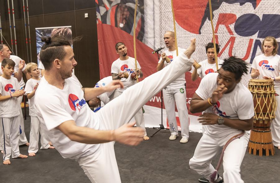 Capoeira - Copa Mestre Camisa Roxa